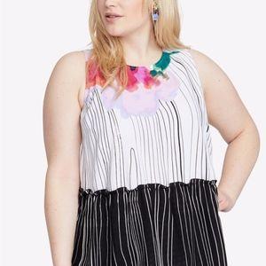 🎉HOST PICK🎉 NEW Rachel Roy Floral Tie-Back Top
